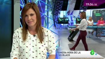 Mamen Mendizábal con pantalones ceñidos (07/01/17)