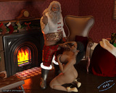 3d comic Bad Santa by Scorpio69