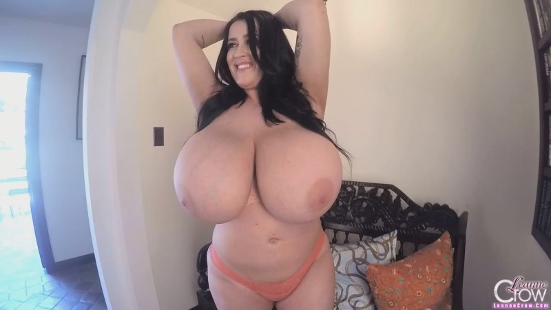 Leanne Crow   Massive Boobs Pink Lounge GoPro 1 HD 720p
