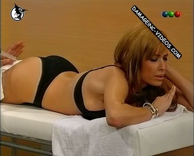 Daniela Cardone cute ass in thong