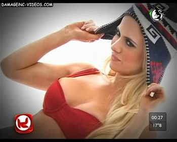 Alejandra Maglietti nipple oops Damageinc Videos