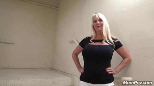 Mompov.com -  Pheobe Blonde get some stairwell cock - BONUS