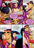 Sexfire - Arachnid Amore - Street Fighter adult comic