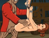 Porn game for PC - Pirate Slave by Gamcore