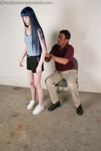 Mr. King Spanks Lila In The Hallway - image6