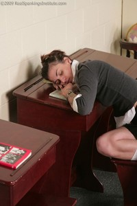 Jade: Paddled For Sleeping In Study Hall (part 1 Of 2) - image2