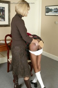 Janelle Earns A Paddling For Discipline - image6