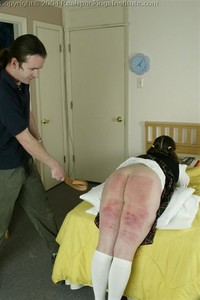 Lori Is Spanked For Stealing A Test, Part 2 - image3