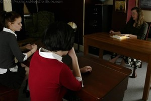 Kailee And Andi Spanked By Lady D - image6