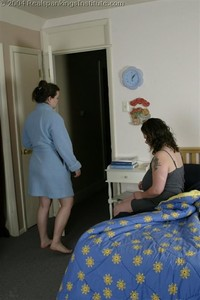 Lady D Finds Lori Out Of Bed Part 1 Of 2 - image3