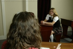 Kathy And Jennifer Are Caned By The Dorm Mom - image2