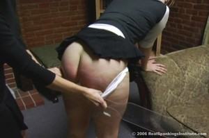 Brooke Is Spanked For Arguing - image2