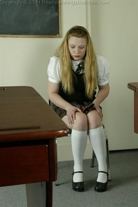 Carrie Is Spanked With The Tawse - image4