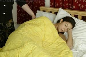 Brandi Is Spanked For Sleeping Late - image2