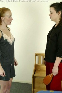 Jessica Is Spanked By The Dorm Mom - image2
