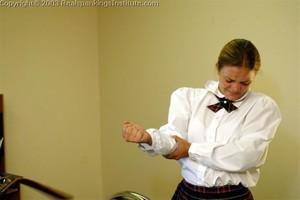 Jennifer Gets Her Hands And Bottom Spanked - image6