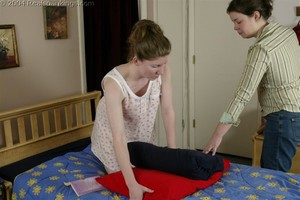 Kathy Spanked By Lady D Pt. 2 - image5