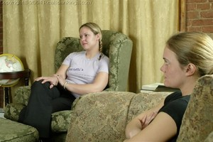 Jennifer & April: Late & Spanked - image2