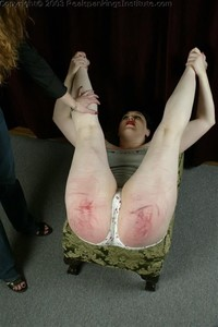 Betty's Diaper Position Punishment - image5