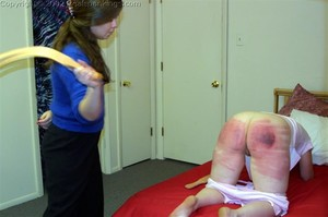 Trish's Severe Strapping - image4