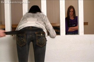 Riley And Jade Spanked With The Belt (part 2 Of 2) - image6