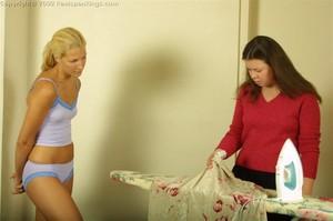 Mandy's Hard Handspanking - image6