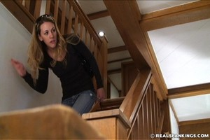 Monica Caught Sneaking Out - image1