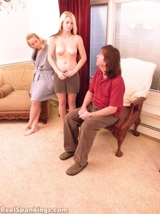 Summer And Brooke Hand Spanked For Coming Home Late (part 1 Of 2) - image1