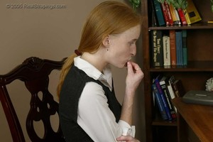 Jessica Is Strapped For Misbehaving - image3