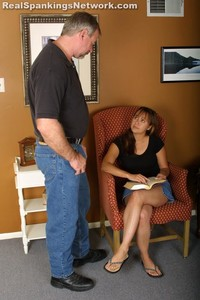 Cindy's Talking Back Gets Her Spanked - image4