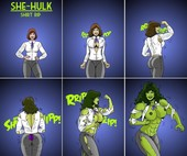 Manic - She Hulk Jobs - XXX comic - Ongoing