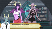 Two succubi - High school of Succubus v1.40 Win/Mac/Apk - New adult game