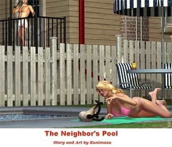 Kunimasa - The Neighbor's Pool